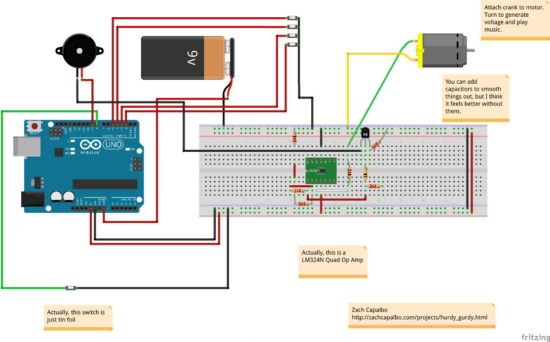 Breadboard Diagram